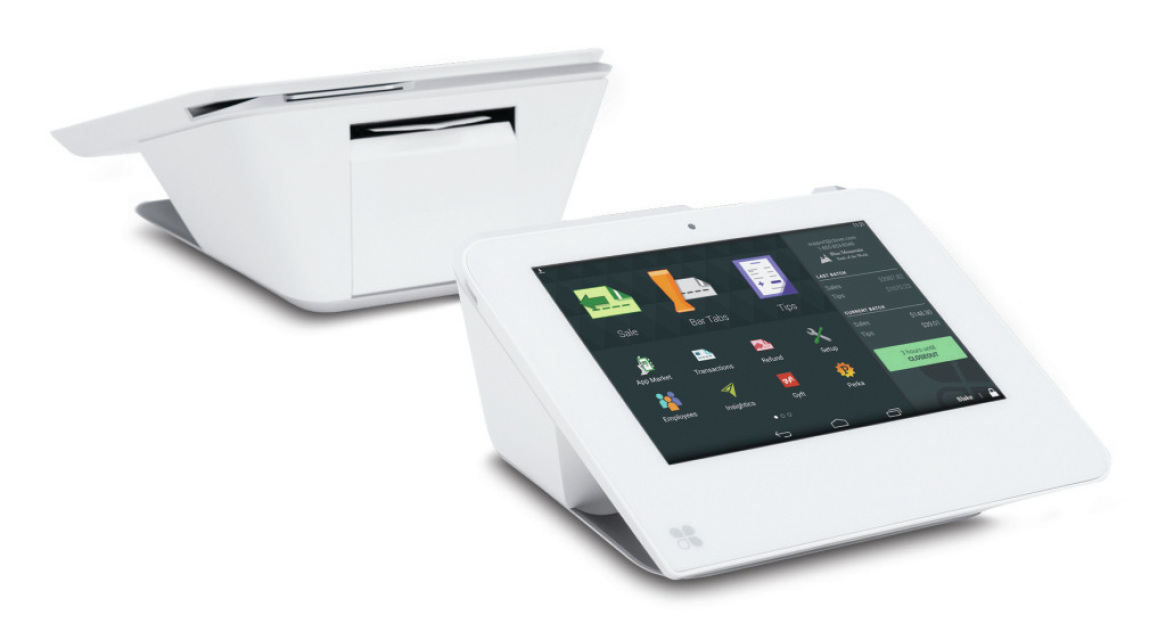 Clover Mini Wifi Or 3g Point Of Sale Printer Scanner Emv